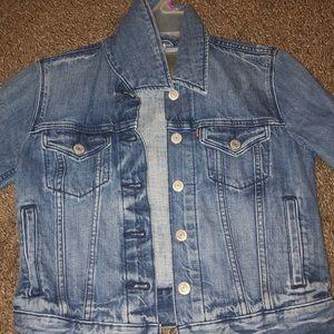 cute levies jean jacket